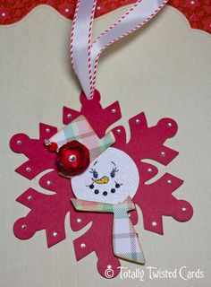 Peachy Keen Stamps: Guest Designer - Totally Twisted Cards - - #Ornaments