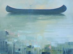 """Title: """"Landing"""" oil/canvas  36""""x48"""" by Lynn Janigan  $2,100.00 at """"Canvas Gallery"""" Toronto sold"""