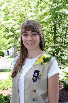 Emily Tarini earned the Gold Award.