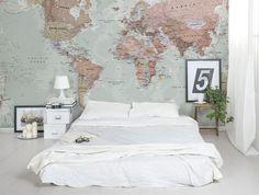 Wereldkaart aan de muur zien we steeds vaker voorbij komen. En dat is ook niet gek: vol herinneringen én stijlvolle wandversiering. Hier vind je inspiratie