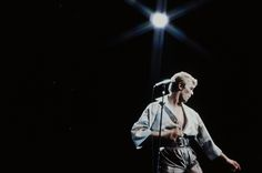 David Bowie performs live at NHK Hall, Tokyo in 1978
