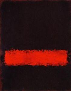 Black, Red and Black - Mark Rothko