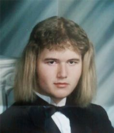 Nothing says mullet like a mullet!!