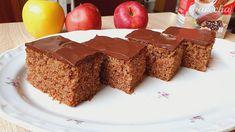 Rýchly jablkový koláčik s čokoládovou polevou (videorecept) - recept | Varecha.sk