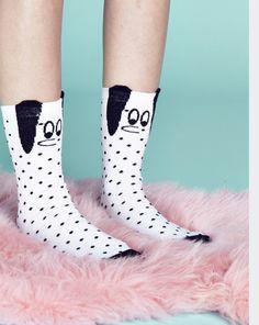Lazy Oaf Doggy Socks - Socks - Categories - Womens