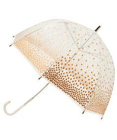 People always look so gosh-darn dry under those cute bubble umbrellas...