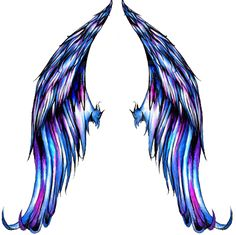Angel Wing Tattoos...I think other than the coloring, I love these wings!!! Must have!