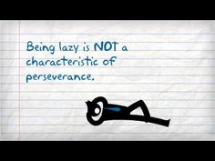 Perseverance Life Skill powtoons for education