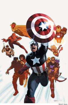 Avengers, by Daniel Acuña