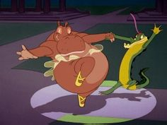 "Only in a Disney film could something like ""Dance of the Hours"" be performed by straight-laced hippos and alligators. --   Fantasia & Fantasia 2000: 2 Movie Collection Blu-ray + DVD Review"