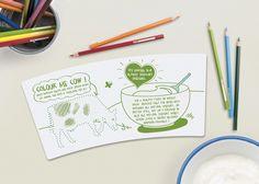 Browne yogur natural relativa a los envases del Mundo - Paquete creativo Galería de diseño