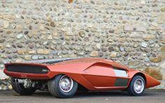1970 Bertone Lancia Stratos Zero Concept