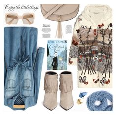 """""""Enjoy the little things"""" by the-reluctant-dragon ❤ liked on Polyvore featuring Valentino, Forever 21, Paula Bianco, Stuart Weitzman, Miu Miu and Bare Escentuals"""