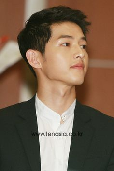 150810 || Song Joong Ki 송중기 at FC SMILE launch ceremony. His charisma is very…