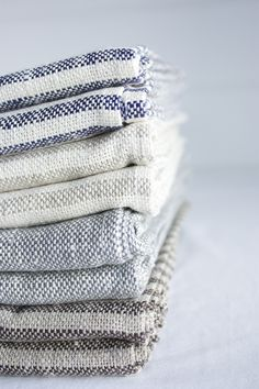 ... fog linen bath towels ...