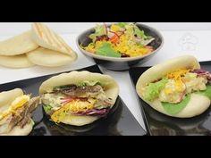YouTube Pan Bread, My Plate, Bao, Fresh Rolls, Taiwan, Ethnic Recipes, Orient Express, Tortillas, Yummy Yummy