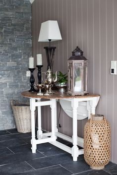 Avlastningsbord Entryway Tables, Furniture, Home Decor, Decoration Home, Room Decor, Home Furnishings, Home Interior Design, Home Decoration, Entry Tables