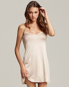 Hanro nightgown, $129 at Bloomingdales or $19.90 through Rue.