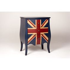 Love this piece with the Union Jack, found on Overstock.com