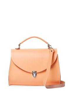 Poppy Satchel Bag by The Cambridge Satchel Company at Gilt Cambridge Satchel, Satchel Bag, Shoulder Strap, Shoulder Bags, Minimalist Fashion, Poppy, Leather Bag, Product Launch, Handbags