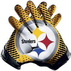 Nike Pittsburgh Steelers Vapor Jet 2.0 Team Authentic Series Gloves