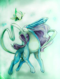 Suicune and celabie