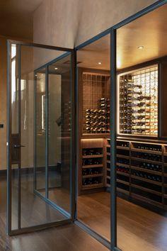 Wine Cellar Design, Wine Design, Wine Cellar Basement, Inside Bar, Home Wine Cellars, Wine House, Cigar Room, Wine Wall, Pretty Room