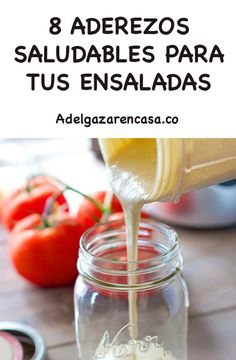 Cooking recipes: 8 healthy dressings for your salads - Chef HELEN LOG Healthy Recepies, Raw Food Recipes, Healthy Snacks, Vegetarian Recipes, Cooking Recipes, Cesar Salat, Chickpea Salad Recipes, Good Food, Yummy Food