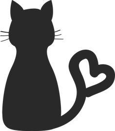 Kostenloses Bild auf Pixabay - Charaktere, Katze, Silhouette, Tier