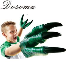 2015 Jurassic Dinosaur Toy Dragon Gloves Child Halloween Gift Funny Gadgets For 6 years Old Boy Vinyl PVC Cartoon Toys(China (Mainland))