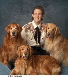 Temple Gradlin, American doctor of animal science and professor at Colorado State University, bestselling author, and consultant to the livestock industry on animal behavior. As a person with high-functioning autism, Grandin is also noted for her work in autism advocacy and is the inventor of the squeeze machine, designed to calm hypersensitive people.