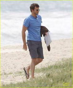 SPOTTED: Bradley Cooper in Brazil Logo
