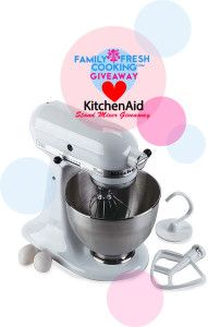 KitchenAid Stand Mixer #Giveaway. Ends  3/15