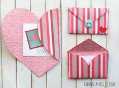 Enveloppe coeur romantique. 14 activités rigolotes pour les enfants à l'occasion de la Saint-Valentin
