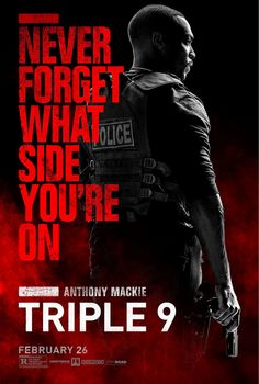 TRIPLE 9 movie poster No.5 (Anthony Mackie)