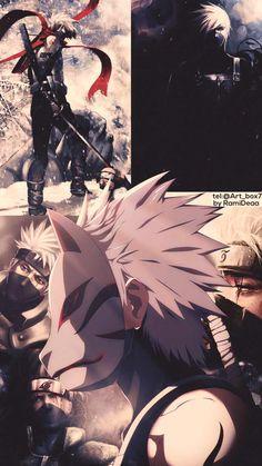 Kakashi Hatake art,very cool Naruto Shippuden Sasuke, Naruto Kakashi, Anime Naruto, Art Naruto, Wallpaper Naruto Shippuden, Naruto Wallpaper, Gaara, Boruto, Otaku Anime