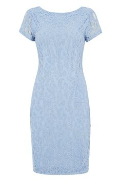 03001d318dde Short Sleeve Luxe Lace Dress at Roman Originals Roman Originals