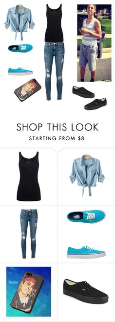 """""""First date with Matt Espinosa"""" by sissymae2468 ❤ liked on Polyvore featuring Juvia, Frame Denim, Vans and Samsung"""