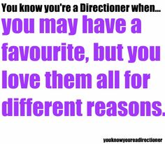 You know youre a Directioner when...
