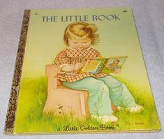 Vintage Little Golden Book The Little Book Eloise Wilkins 1969, First Printing