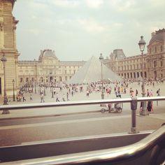 Paris, le louvre