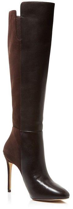 d48a42477c93 MICHAEL Michael Kors Clara Tall High Heel Boots Chaussure Michael Kors,  Talons, Hiver,