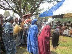 paying respect to the chief is of high values in Cameroon