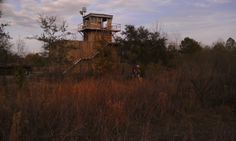 Some kind of lookout station probably for the railroad Found in Savannah GA  #abandoned #lookout #station #probably #railroad #found #savannah #photography
