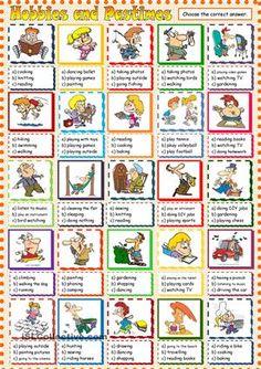 hobby list pdf useful skills