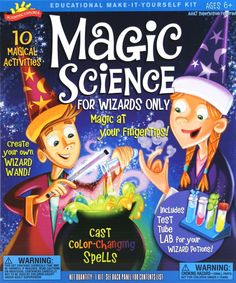 Magic Science for Wizards Only Kit