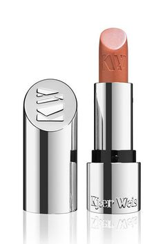 """""""Kjær Weis' lipsticks are seriously gorgeous. 'Brilliant' is the perfect modern nude. It works for a wide range of skin tones without reading too pink. 'Red' is the perfect go-to red. It packs a punch, but is also great if you're a red-lipstick-every-day kind of person. I'm glad to see natural lines upping their lipstick game, and Kjær Weis does not disappoint.""""Kjær Weis Lipstick in Brilliant, $56, available at Kjær Weis. #refinery29 http://www.refinery29.com/best-beauty-products#slide-20"""