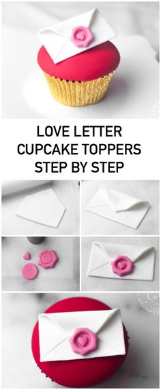 19 Ideas cupcakes decoration fondant ideas valentines day for 2019 Oreo Cupcakes, Fondant Cupcakes, Cupcakes San Valentin Fondant, Valentines Cakes And Cupcakes, Butter Cupcakes, Fondant Toppers, Valentine Cookies, Wedding Cupcakes, Cupcake Cakes