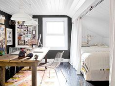 Cool 6 Tips For Sharing An Office And Guest Room Home Decorating Largest Home Design Picture Inspirations Pitcheantrous