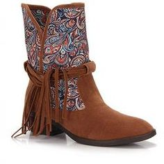 Ankle Boots Feminino Desmond - Caramelo